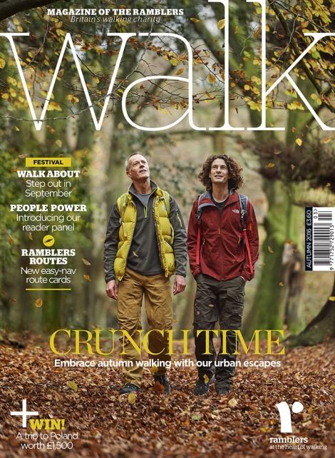 WALK Magazine Autumn 2016 Front Cover shot