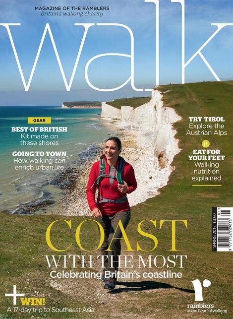 WALK Magazine Spring 2017 Front Cover shot
