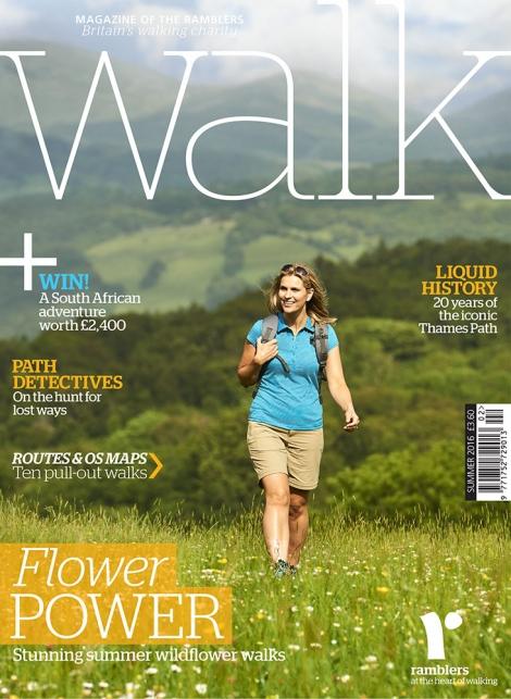 WALK Magazine Summer 2016 Front Cover shot