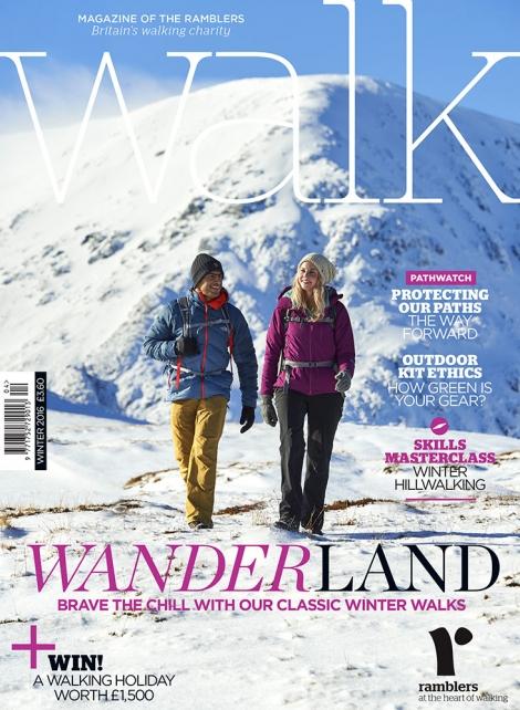 WALK Magazine Winter 2016 Front Cover shot